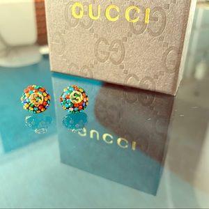 Gucci disco ball earrings
